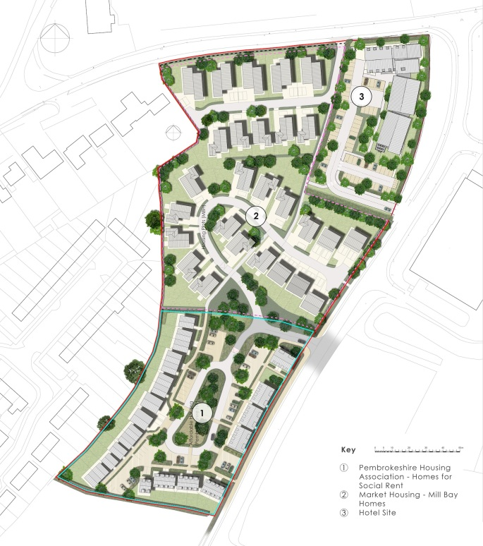 Extra - Development - Glasfryn Rd